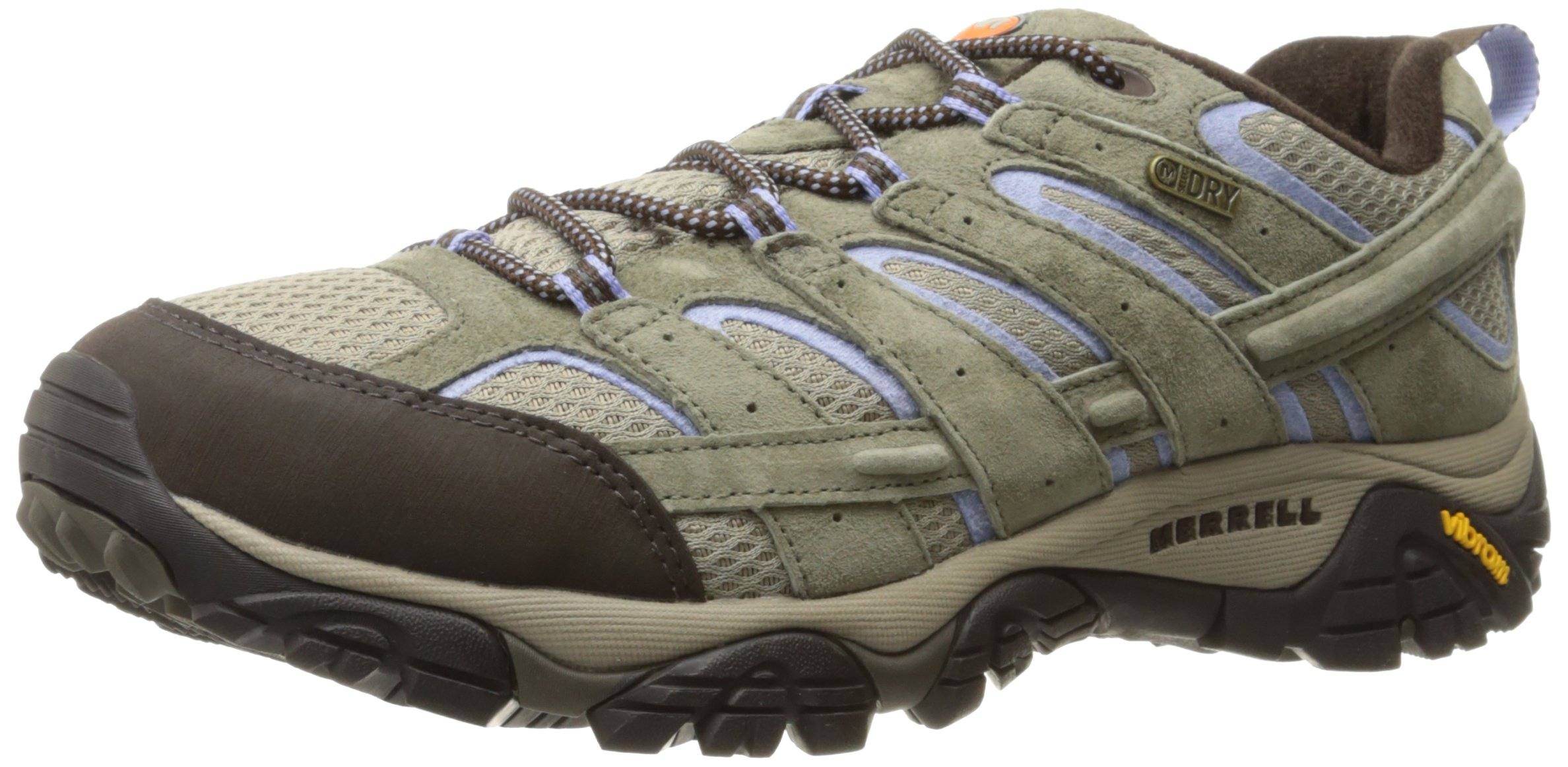 Merrell Women's Moab 2 Waterproof Hiking Shoe, Dusty Olive, 8 M US