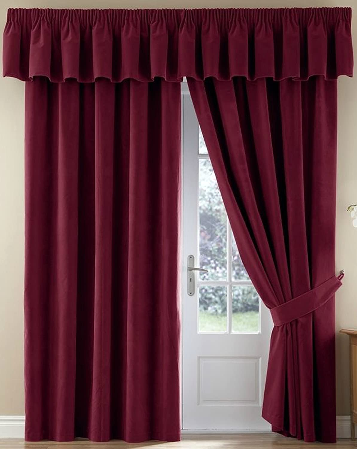 curtains for extra online grommet quick view bedroom curtain velvet blackout heading wide inch whitney made custom brown tab top