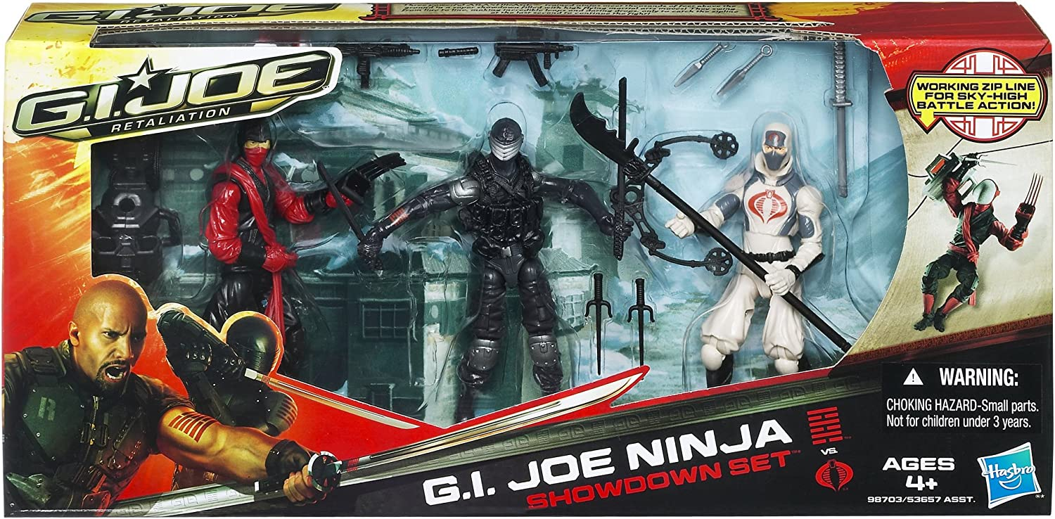 GI Joe Retaliation Movie Ninja Showdown Set