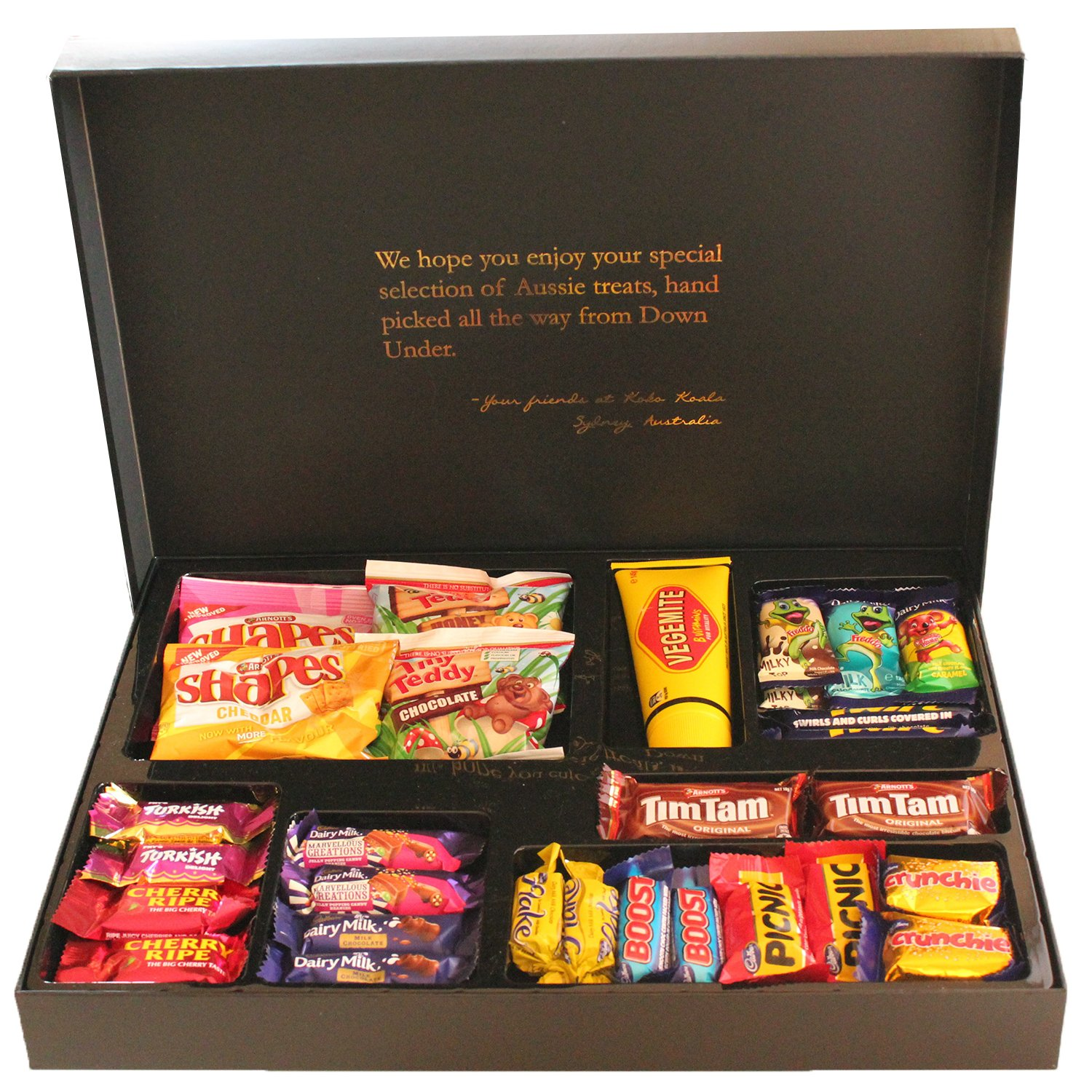 Amazon.com  Aussie Favorites Gourmet Gift Box | Vegemite Tim Tam Cookies Cadbury and More! | Koko Koala Australia  Grocery u0026 Gourmet Food  sc 1 st  Amazon.com & Amazon.com : Aussie Favorites Gourmet Gift Box | Vegemite Tim Tam ... Aboutintivar.Com