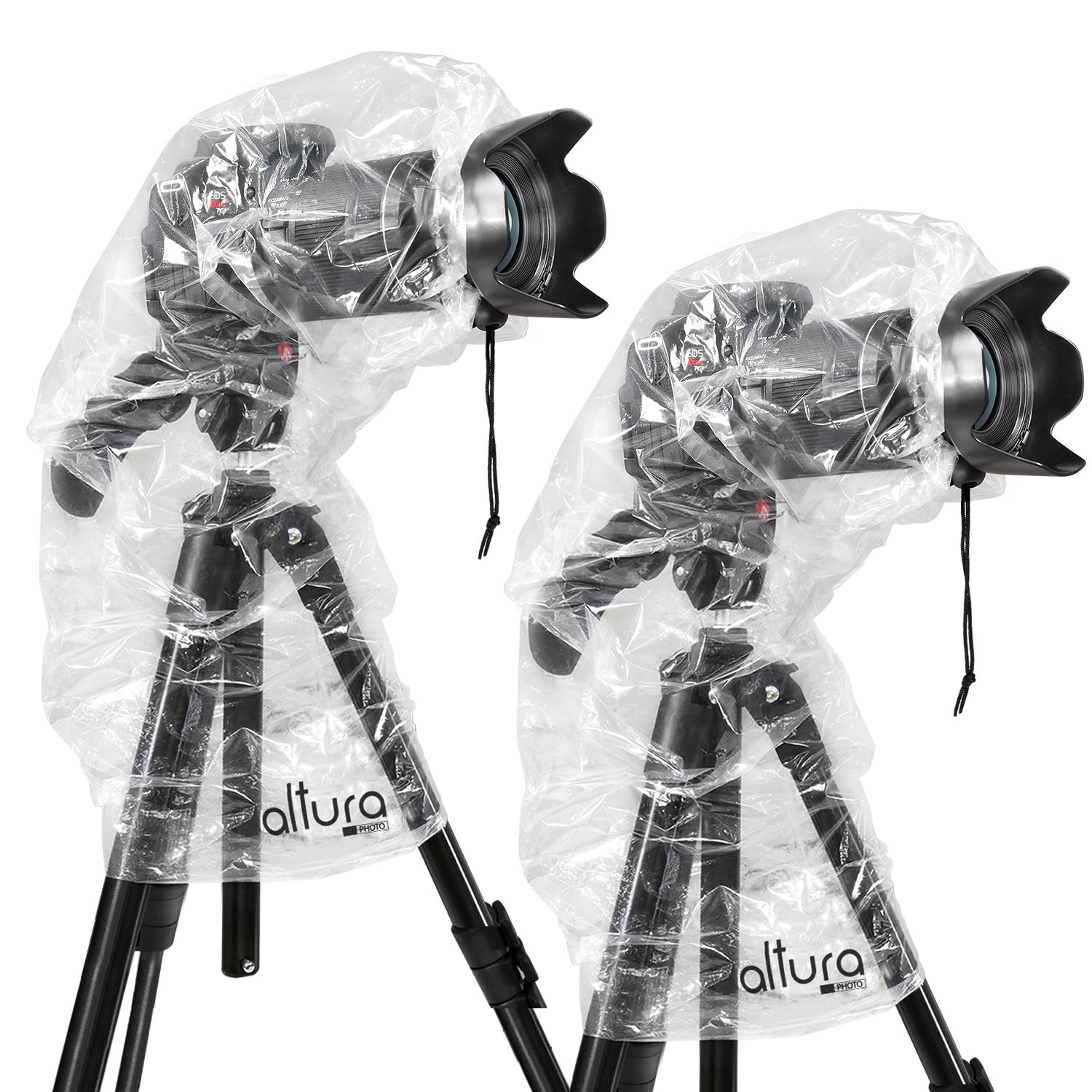 """(2 Pack) Altura Photo Rain Cover for DSLR Cameras with Lenses Up to 18"""" Long"""