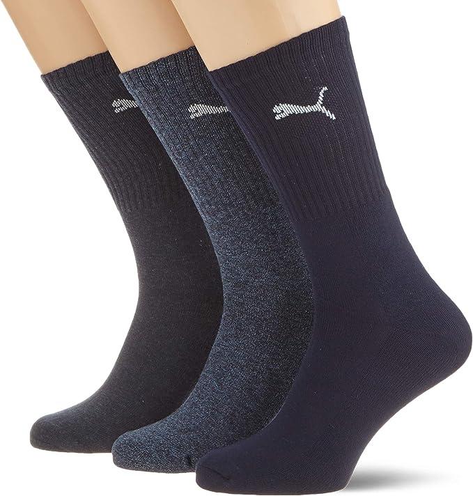 6 Paar Puma Unisex Short Crew Socken Strümpfe Sport verschiedene Grössen