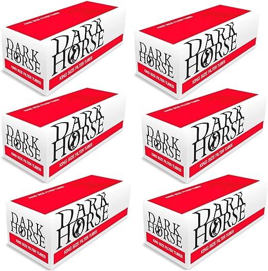 Compra Dark Horse 10000 - Casquillos de Cigarrillos con Filtro ...