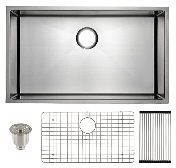 Best Undermount Kitchen Sink: Frigidaire Undermount Stainless Steel Kitchen Sink