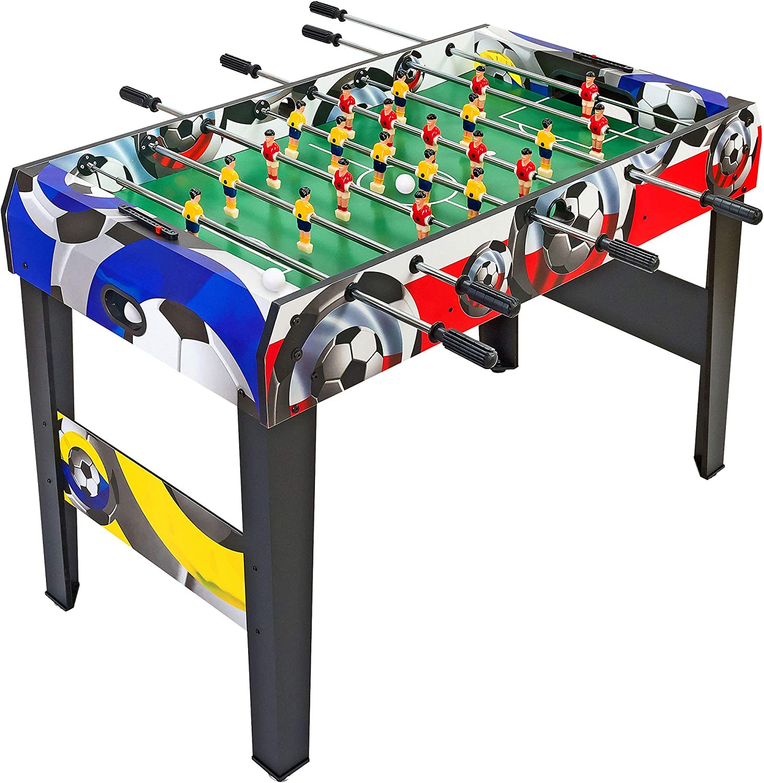 Smart – Futbolín con Barras telescópicas: Amazon.es: Juguetes y juegos