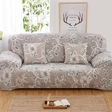 Funda elástica para sofá de un asiento, lavable y ajustable, de la marca Duoguan, 2, 3 seater:74-90 Inch