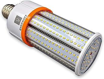 60w Led Corn Light Bulb Large Mogul E39 Base 8115 Lumens 5000k Replacement For 250w To 400w Metal Halide Bulb Hid Cfl Hps Amazon Co Uk Lighting