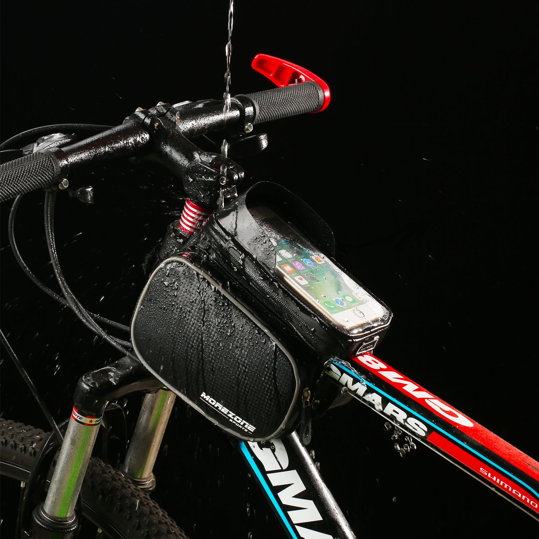 Bolsa Tubo Bicicleta MOREZONE Bolsa Marco Ciclismo Resistente al ...
