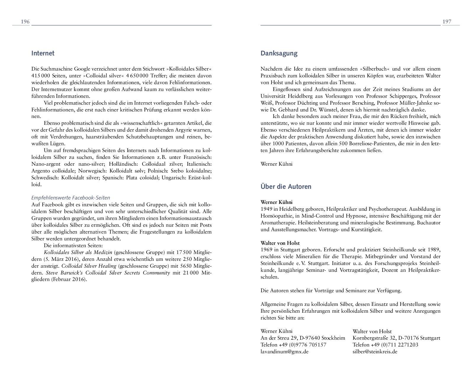 Kolloidales Silber: Das gesunde Antibiotikum für Mensch und Tier ...