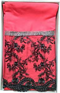 Double/Full Size, Mixed,Solid Pattern, Red - Bedding Sets