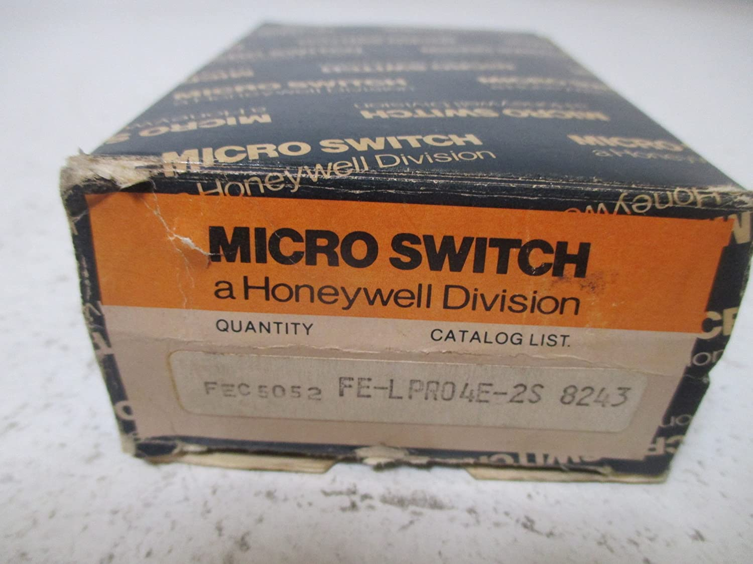 MICROSWITCH FE-LPR04E-2S Photo Electric Sensor, Modular PHOTOELECTRIC System, Discontinued by Manufacturer, Heavy Duty