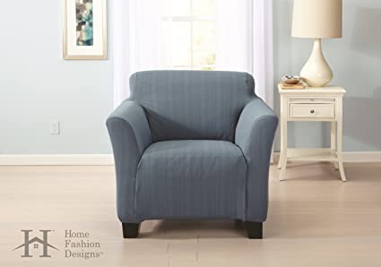 Remarkable Home Fashion Designs Form Fit Slip Resistant Stylish Furniture Shield Protector With Cable Knit Fabric Darla Collection Platinum Strapless Gamerscity Chair Design For Home Gamerscityorg