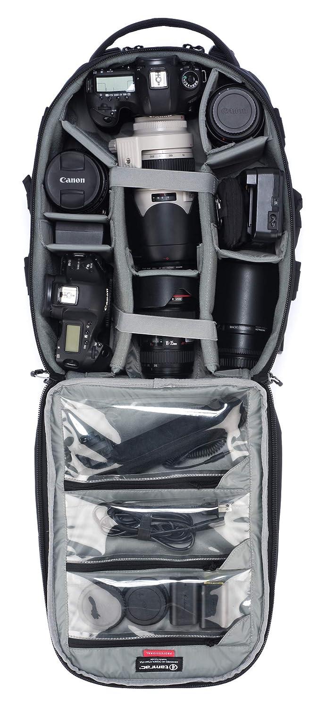 Mochila para Equipo fotogr/áfico Color Negro Tamrac Anvil Super 25