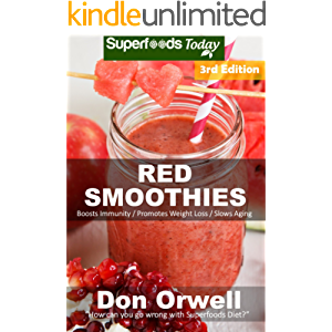 Red Smoothies: Over 55 Blender Recipes, weight loss naturally, green smoothies for weight loss,detox smoothie recipes…