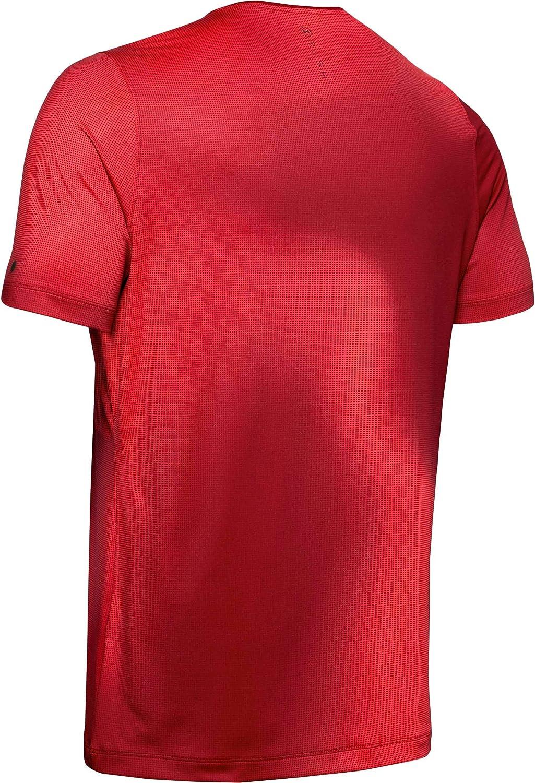 Under Armour Herren Rush HeatGear Fitted Printed Kurzarmshirt