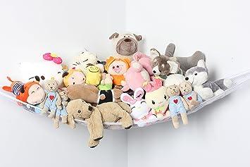 Amazon Com Sbyure Toy Hammock Large Elastic Toy Hammock Storage