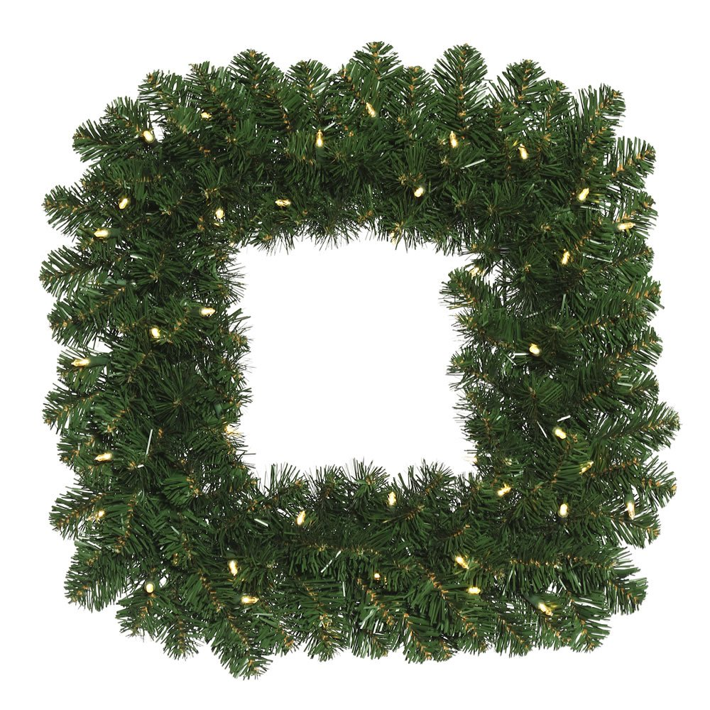 Vickerman Oregon Fir Square Wreath