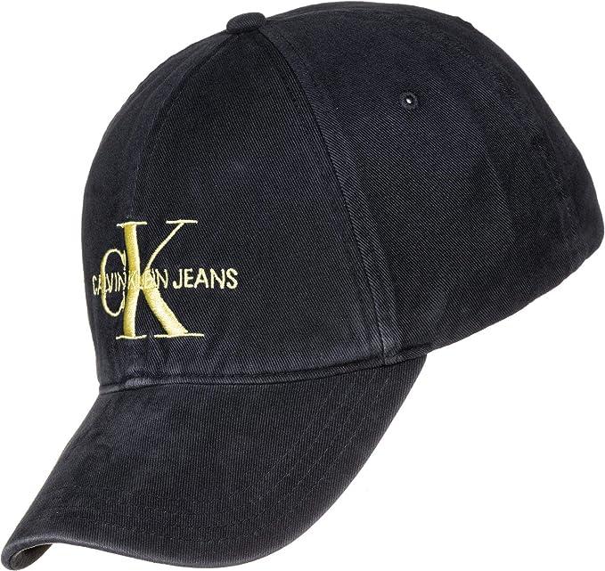 Calvin Klein Jeans J Monogram Cap M, Gorra de béisbol para Hombre, Azul (