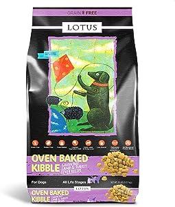 Lotus Lamb and Turkey Liver Dog Food 20lbs