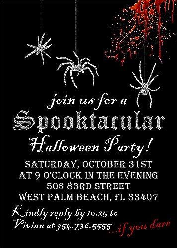 Amazon Com Halloween Party Invitations Handmade
