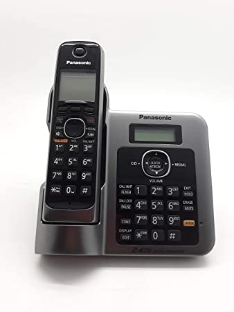 Panasonic KX TG3811SXM 24 GHz Digital Cordless Telephone
