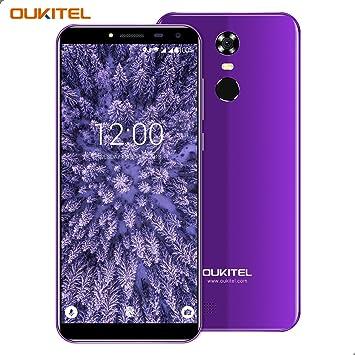Móviles, OUKITEL C8 3G Smartphone, 5.5 Pulgadas Display (18: 9 Visión Completa