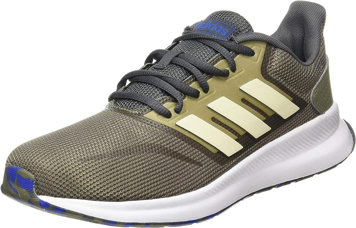 adidas Runfalcon, Zapatillas para Correr para Hombre, Legacy Green/Sand/Grey Six, 40 EU: Amazon.es: Zapatos y complementos