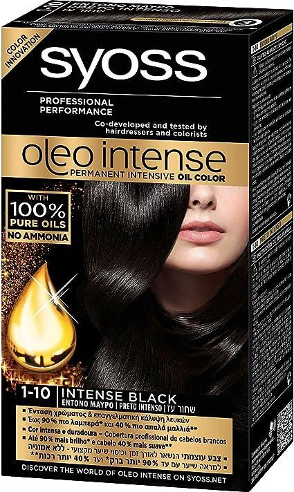 Syoss Oleo Intense Tinte para el cabello, 100% aceites puros ...