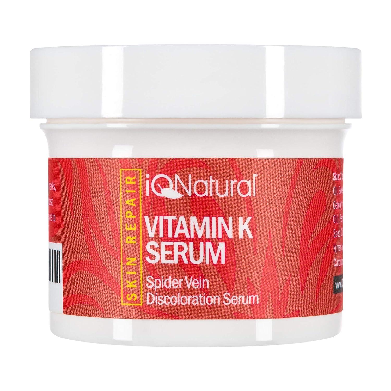 Premium - Vitamin K Serum to Diminish Varicose Veins, Spider Veins, Broken Capillaries and Age Spots