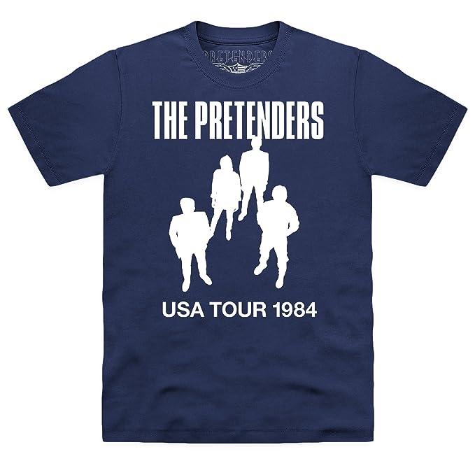 Official The Pretenders USA Tour 1984 Camiseta, Para hombre: Amazon.es: Ropa y accesorios