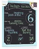Pearhead Chalkboard Photo Background, Black