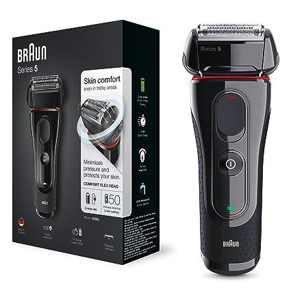Braun Series 5 5030s - Afeitadora eléctrica de lámina para hombre  (recortadora de precisión extraíble 1df7c7e11d64