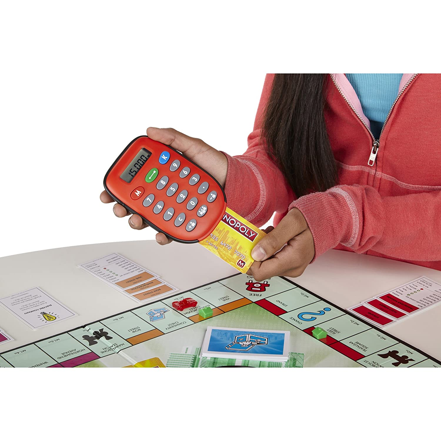 Monopoly Electronic Banking Game Hasbro A7444