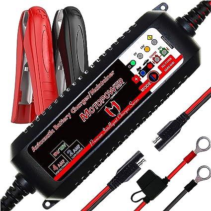 MOTOPOWER MP00207 - Cargador automático para baterías de ...
