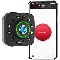 ULTRALOQ Smart Lock U-Bolt Pro, 6-in-1 Keyless Entry Door Lock with Bluetooth, Biometric Fingerprint and Keypad, Smart…