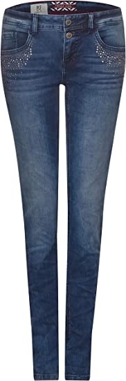 Street One Damen Slim Jeans