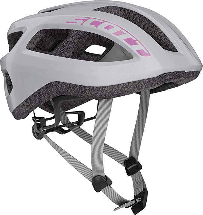 Scott 275217 - Casco de Bicicleta Unisex para Adulto, Vogue Silver ...