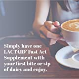 Lactaid Fast Act Lactose Intolerance Relief Caplets with Lactase Enzyme to Prevent Gas, Bloating & Diarrhea Due to Lactose Sensitivity, Ideal for Travel & On-the-Go, 12 Packs of 1-count