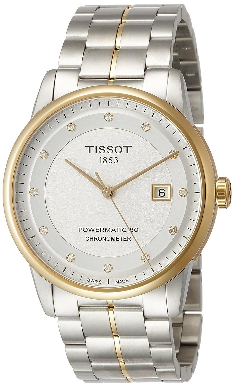 Tissot Reloj Analógico para Mujer de Automático con Correa en Acero Inoxidable T086.408.22.036.00: Amazon.es: Relojes