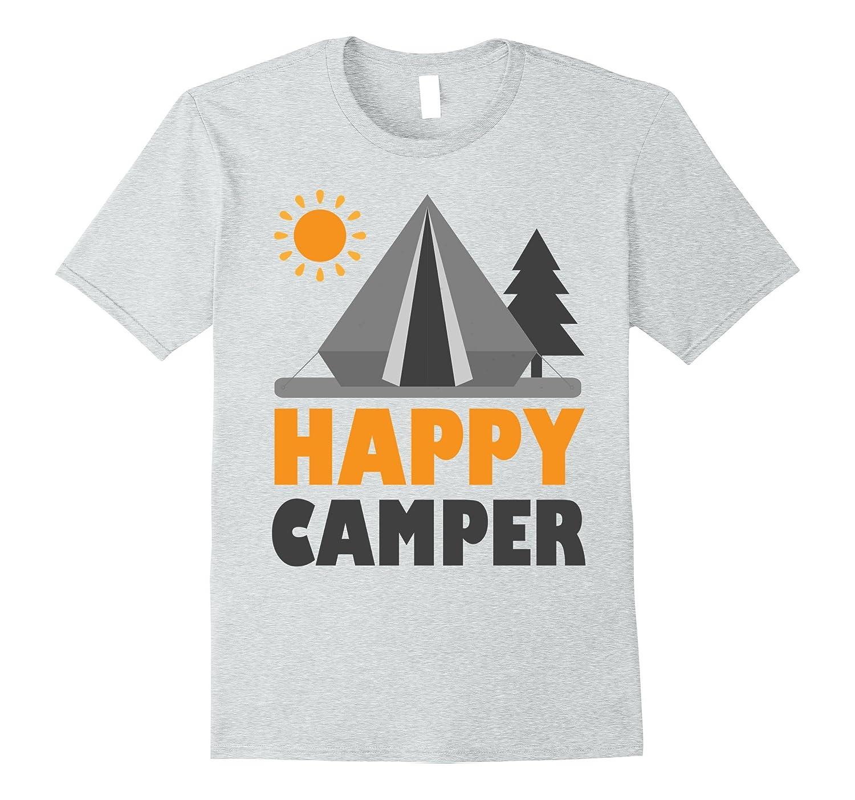 9ad6dde98f1 Camping Shirt Happy Camper T-Shirt Unique Camper T-Shirt-PL – Polozatee