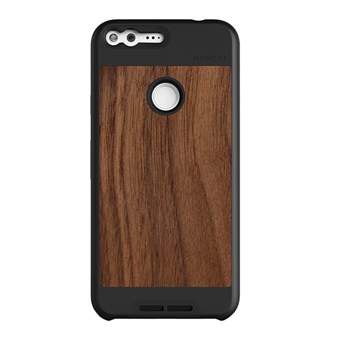 new style 0a452 c5838 Google Pixel XL Case || Moment Photo Case in Walnut Wood - Thin,  Protective, Wrist Strap Friendly case for Camera Lovers.