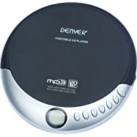 Denver DMP-389 tragbarer MP3/CD Player schwarz