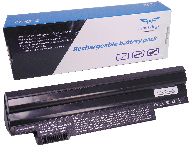 Batería Acer Aspire One AO722 AOD255 AOD260 AL10A31 AL10B31 AL10G31 4400mAh