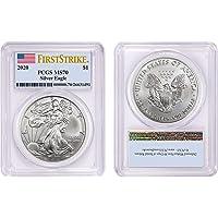 2020 Silver Eagle $1 MS70 PCGS