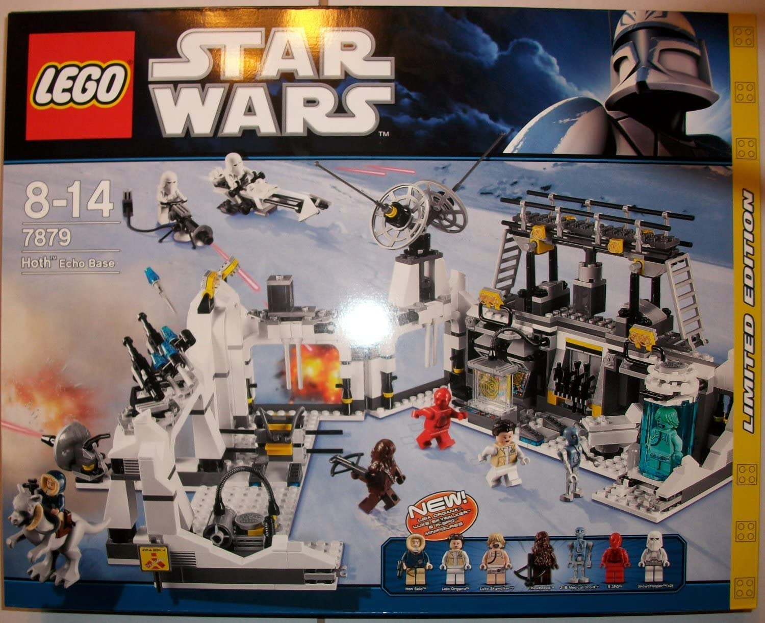 š LEGO Lego Star Wars 7879 SW host - based echo Star Wars Hoth Echo Base 81a52BQwcdiLSL1500_