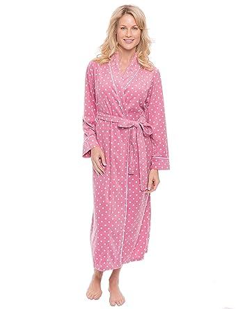 Noble Mount Womens Microfleece Robe at Amazon Women s Clothing store  448a9582e