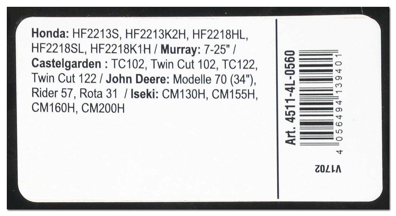 4L560 Arnold 4511-4L-0560 X-Grip Keilriemen 4L 560
