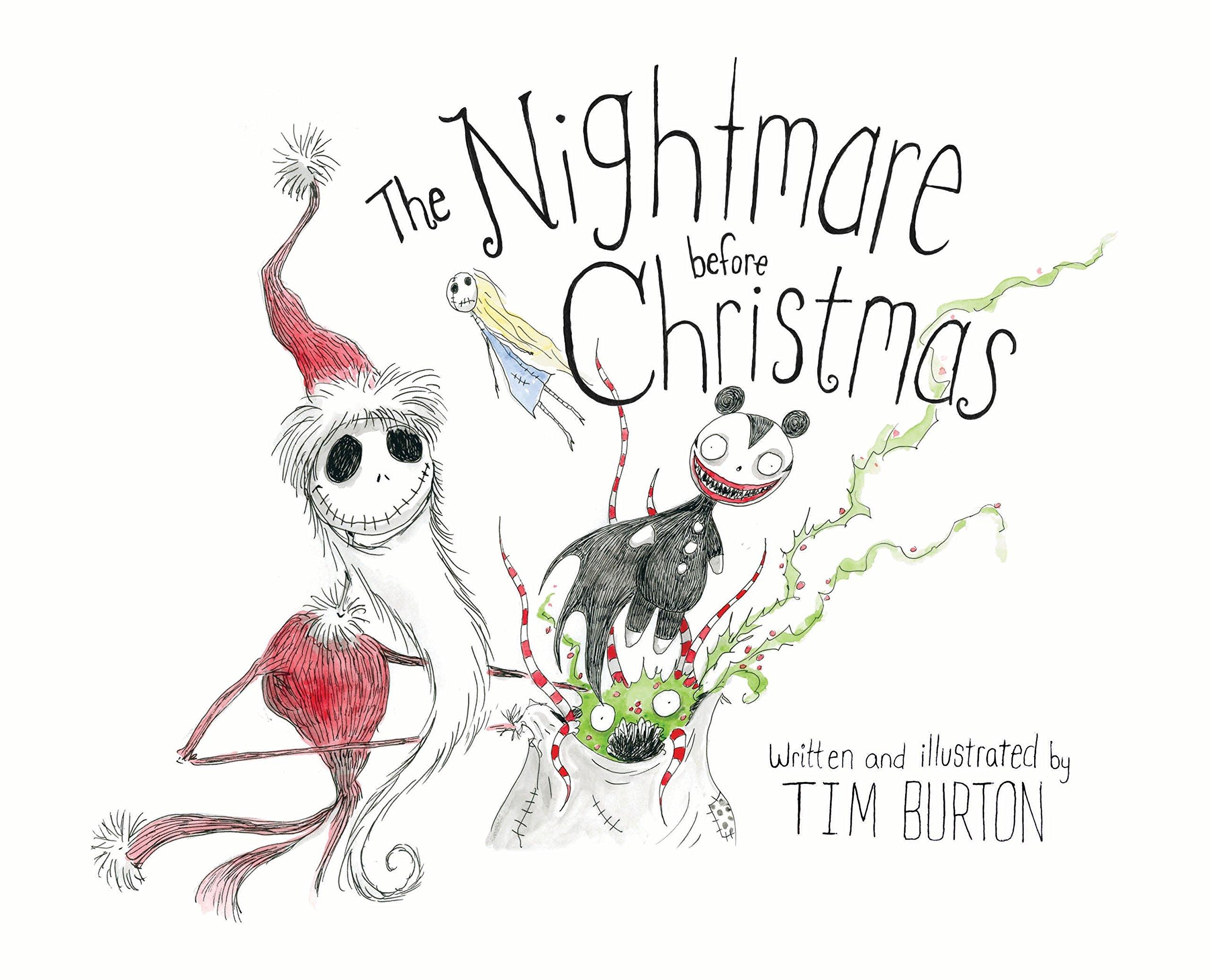 The Nightmare Before Christmas: Amazon.es: Burton, Tim: Libros en idiomas extranjeros