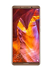 "Huawei Mate 10 Pro Unlocked Phone, 6"" 6GB/128GB, AI Processor, Dual Leica Camera, Water Resistant IP67, GSM Only - Mocha Brown (US Warranty)"