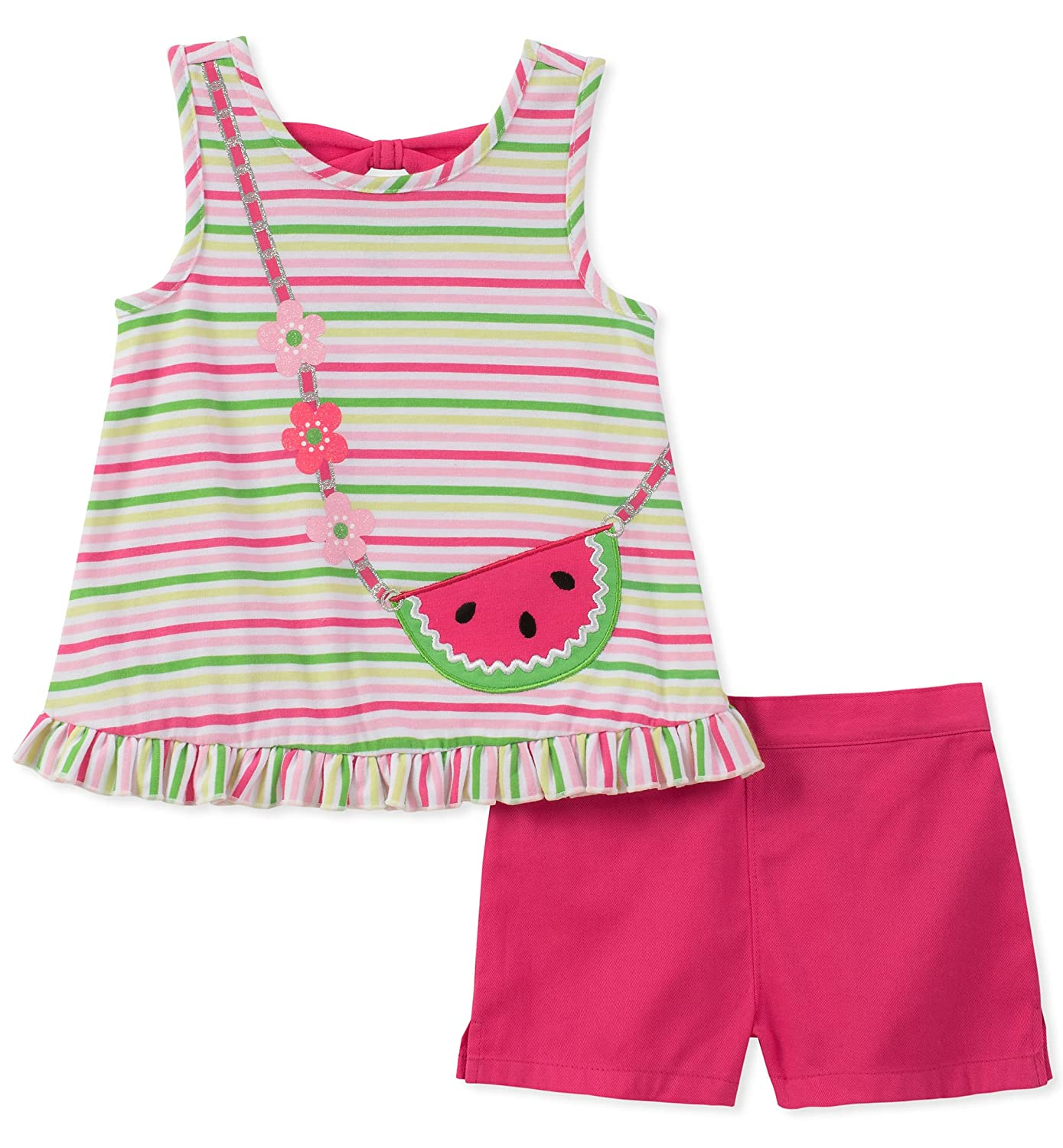 Kids Headquarters Girls Toddler 2 Pieces Shorts Set